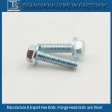 C1035鋼鉄によって電流を通される十六進フランジのボルト等級8.8