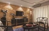 Mattonelle sottili per le mattonelle della parete interna, mattonelle della parete esterna, mattonelle di effetto di marmo scuro di pavimentazione