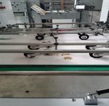 Stempelschneidene und faltende Maschinen-gewölbte Pappe-Kasten-Maschinerie