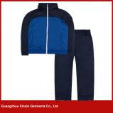 Conjunto del desgaste del deporte del llano del diseño del OEM para los conjuntos del deporte del otoño (T16)