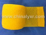 La CE y la certificación ISO de papel crepé vendaje elástico Chohesive vendaje