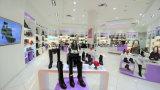 Moda Mujer Zapatos al por menor tienda, zapatos femeninos tienda de decoración