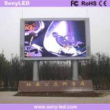 Carte vidéo Outdoor pleine couleur LED de panneaux de publicité (P10)