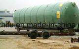 Tanques de GRP coloridos para armazenamento, agitação, reação, pressão de água e gás