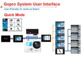 유사한 직업적인 Hero4 1080P HD 스포츠 DV는 방수 처리한다 30m를 170의 광각 스포츠 사진기 또는 공중 Aircraf G3 간다