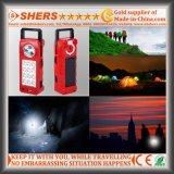 Luz Emergency solar recarregável do diodo emissor de luz com 1W a lanterna elétrica, USB (SH-1905)
