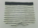 Yarn Dye Moda Roupa interior infantil Boy Boxer Short Boy Brief