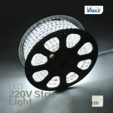 LED Flexible Strip LightかWaterproof 220V Strip Light (220v-3528-60-IP44-WH)
