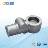 Изготовленный на заказ нержавеющая сталь выковала соединение фланца частей CNC подвергая механической обработке