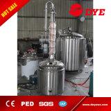 50L autoguident le distillateur d'alcool illégal d'utilisation avec le casque de cuivre