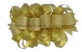 Смычок зажима волос бутика золота металлический для упаковки подарка