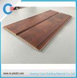 中間の溝は9mm PVC天井の耐火性の木製の壁パネルを薄板にした