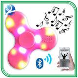 최신 판매 Plasitc 싱숭생숭함 방적공 추가 색깔 LED 손 방적공