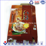 L'emballage alimentaire boîte Boîte de papier alimentaire avec des poignées