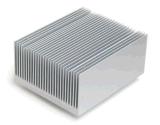 Подгонянный теплоотвод штрангя-прессовани алюминиевого сплава анодированный