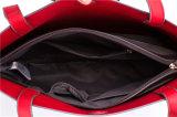 Sacchetto di Tote di cuoio grigio della borsa delle donne dell'unità di elaborazione di stile semplice