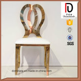 Популярный стул нержавеющей стали золота Rose с кожей PU