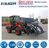 По цене 2 тонн дизельного топлива Ce мини малых передней колеса погрузчика с Snow Blade