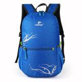 Trouxa de dobramento portátil ao ar livre da pele do curso Ultra-Light impermeável do saco de ombro dos homens e das mulheres de saco do alpinismo da trouxa
