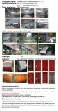 Porte en bois de forces de défense principale de porte de garantie de vente de Drict d'usine (sx-4-1032)