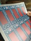 Une machine d'impression d'écran d'étiquette de haute précision de couleur