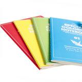 学生のノートのカスタム薄紙表紙のノートの演習帳の印刷