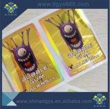 Contrassegno olografico di marchio di stampa su ordinazione del Silkscreen