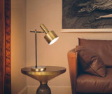 Così la lampada moderna della Tabella dell'indicatore luminoso dello scrittorio della camera da letto dell'alberino di modo in bronzo antico, può essere lampadine usate del LED