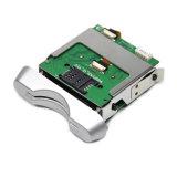 Inserção manual EMV RS232/USB do leitor de cartão IC