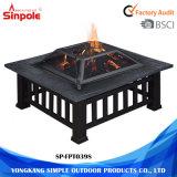 Terminar os poços ao ar livre de aço do incêndio da grade acessória do BBQ do carvão vegetal