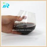 18oz Stemless de plástico cristal de la copa de vino, vino a granel