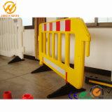 Clôture de la barrière de plastique de haute qualité pour la sécurité routière