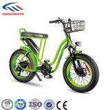 Estrada de 20 polegadas que dá um ciclo a bicicleta elétrica da neve da bateria de lítio 36V