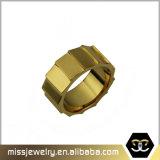 Anello di fidanzamento della fascia di cerimonia nuziale del tungsteno dell'oro del migliore venditore 18K degli S.U.A.