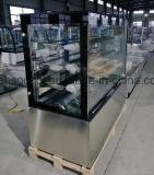 De Apparatuur van de bakkerij, de Koeler van de Showcase van de Cake met 3PCS de Regelbare Plank van het Glas
