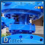 Клапан-бабочка вафли триппеля Didtek Pn10 смещенная