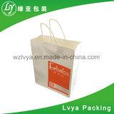 昇進のペーパーショッピング・バッグ、ブラウンクラフト紙の買物袋