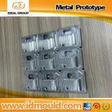 Pièces usinées par aluminium de fraiseuse de précision de commande numérique par ordinateur de prototypes en métal