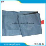 Cinzento e Preto em relevo a camisa de libertação de PE para a auto-adesivo membrana impermeável