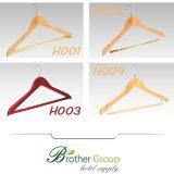 Hôtel Shirt Hanger Cintre en bois d'usine du panneau de flexion Shirt Hanger