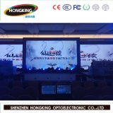 HD extérieur de location P6 DEL polychrome annonçant l'écran