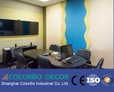 Панели стены звукоизоляционной и акустической ткани одежды акустические