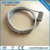 Aquecedor da bobina da câmara quente com aço inoxidável trançado pré-conectado