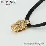 44473 Color Oro 14K de la moda Virgen Marian Collar con joyas de la cruz