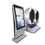 Simulador eléctrico del cine de la realidad virtual 9d con los vidrios 3D