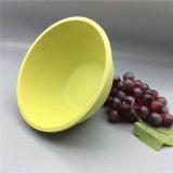 Schöner runder Imbiß rollt Wärme Isolierbambusfaser-Abziehbild-Salat-Filterglocke