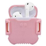 Caja protectora llena para Airpods, cubierta del silicón del silicón para el iPhone Airpods de Apple