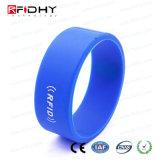 Wristband de la pulsera del silicón del Hf de NFC