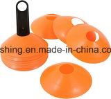 Etiqueta de plástico del campo de la agilidad del balompié