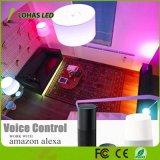 Control de WiFi 9W19 GU24 de un cambio de color RGB LED inteligente de iluminación de la luz de lámpara de trabajo con Tuya APP/Amazon Alexa/Google Home